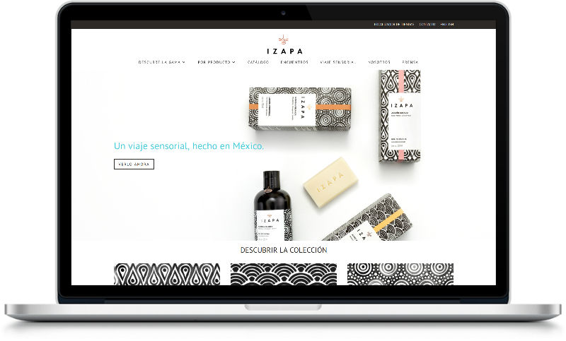 Izapa Sparrow Digital Website Design