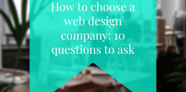 website design 10 questions to ask